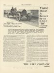 1911 1 5 EMF 73000 Miles A Record By an EMF 30 THE AUTOMOBILE 9″×12″ page I-15