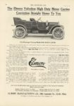 1911 5 3 ELMORE Five Passenger Touring Model 36b 50 HP $1750 THE HORSELESS AGE 8.5×12″ page 86 1