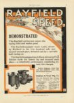 1911 6 1 RAYFIELD SPEED Mulford Lozier Belcher Knox MOTOR AGE June 1 1911 page 59