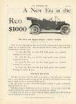 1911 7 12 REO A New Era in the Motor Car Industry Reo 1000 THE HORSELESS AGE July 12 1911 8×12 page 12