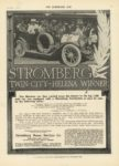 1911 9 13 STROMBERG Carburetors TWIN-CITY-HELENA WINNER THE HORSELESS AGE 8.25″×11.5″ page 1