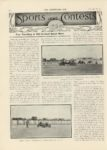 1912 7 10 NATIONAL STUTZ CASE Fast Traveling at Old Orchard Beach Meet THE HORSELESS AGE 9″x12″ page 46