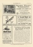1912 8 2 Sprague Electric Dynamoeters TESTING THE HORSELESS AGE 8.5″×12″ page 34