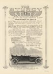 1912 9 5 STUTZ THE STURDY STUTZ ANNOUNCEMENT OF SERIES B MOTOR AGE 8.5″×12″ page 93