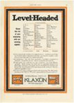 """1912 12 26 KLAXON Horns LEVEL-HEADED """"The Public Safety Signal"""" Lovell-McConnell Mfg Company Newark, New Jersey MOTOR AGE Dec. 26, 1912 8.75""""x12"""" page 55"""
