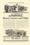 1912 NATIONAL National Beauty Luxury and Utility SIX 2375 FULLY EQUIPPED National Motor Vehicle Co. Indianapolis, IND SCRIBNER'S MAGAZINE 1912 6.5″×9.75″ page 82
