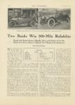 1913 12 11 NATIONAL Two Buicks Win 500-Mile Reliability THE AUTOMOBILE 8.5″x12″ page 1092