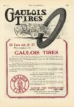 1913 6 5 GAULOUS TIRES THE AUTOMOBILE 8.25″×12″ page 111