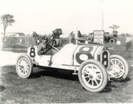 1913 Indianapolis 500 Don Herr STUTZ Coburn 10×8 photograph front up