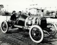 1913 Indianapolis 500 Louis Disbrow CASE HH COBURN Indianapolis Ind 576 10×8 photograph front