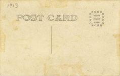 1913 Louis Disbrow Galveston Texas July 28 30 1913 RPPC back