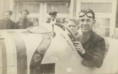1913 ca Jim Murphy racecar driver RPPC front