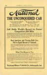 1913 ca National THE UNCONQUERED CAR AUTOMOBILE TRADE JOURNAL page 116H