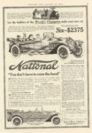 1914 1 10 NATIONAL You dont have to raise the hood COLLIER'S 10″×14.75″ page 45