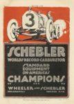 1914 10 15 SCHEBLER WORLDS RECORD CARBURETOR STANDARD EQUIPMENT ON AMERICA'S CHAMPIONS Wheeler-Schebler Indianapolis, Indiana MOTOR AGE page 50