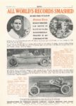 1914 10 ALL WORLD RECORDS SMASHED Elgin De Palma Bob Burman MoToR 9″×13″ page 11
