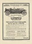 1914 4 2 STUTZ Stutz Torpedo Roadster MOTOR AGE 8.5″×12″ page 78