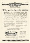 1914 6 STUTZ Why we believe in racing MoToR 9.5″×14″ page 108