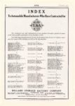 1914 9 WILLARD BATTERY Index Auto Manufacturers National MoToR 10″×14″ page 18