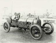 1914 Indianapolis 500 Caleb Bragg MERCER Coburn Photo Indianapolis 3896 10×8 photograph front