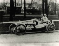 1914 Indianapolis 500 Charles Keene BEAVER BULLET 10×8 photograph front