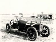 1914 Indianapolis 500 Harry Grant SUNBEAM HH Coburn Photo Indianapolis 10×8 photograph front