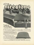 1915 7 17 FIRESTONE Tires 9″×12″ Inside