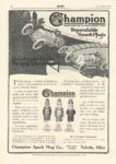 1915 9 Champion Spark Plugs MoToR Sept 1915 page 34