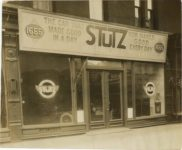 1915 ca STUTZ 1655 Broadway dealership photograph 9×8