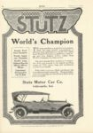 1916 2 STUTZ Worlds Champion MOTOR Feb 1916 9×14 page 32h