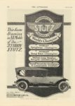1916 7 13 STUTZ This Same Stamina in All Models THE AUTOMOBILE 8.5″×12″ page 70