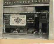 1916 ca STUTZ MOTOR CAR CO 1804 dealership photograph 9×7 1