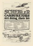 1917 8 30 SCHEBLER SCHEBLER CARBURETORS ARE DOING THEIR BIT Wheeler-Schebler Carburetor Co., Inc. Indianapolis, Indiana MOTOR AGE August 30, 1917 page 52