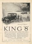 1917 KING KING 8 The Car of No Regrets MOTOR LIFE MOTOR PRINT 9″×12.5″ page 1