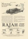 1918 1 16 RAJAH Spark Plugs MOTOR WORLD Jan 16 1918 page 153