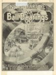"""1920 5 22 NEW DEPARTURE Ball Bearings For everything that revolves THE NEW DEPATURE MFG.CO. Bristol, CONN THE SATURDAY EVENING POST May 22, 1920 10""""x13.5"""" page 52"""