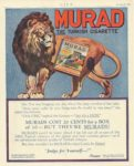 "1920 11 18 MURAD Cigarettes ""Judge for Yourself—!"" S. ANARGYROS P. Lorillard Co. LIFE November 18, 1920 8.5""x10.75"""