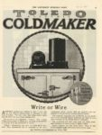 1920 Toledo Electric COLDMAKER SATURDAY EVENING POST 10×14 page 55