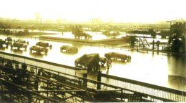 ca. 1920s PLEASE HELP IDENTIFY Mystery race track in the rain photograph (Pennsylvania?)