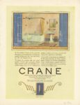 "1922 12 CRANE Plumbing CRANE BEAUTY IN THE OPEN CRANE Chicago, ILL VANITY FAIR December 1922 9.75""x12.75"""