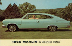 1966 MARLIN by American Motors postcard front