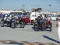 2015 9 15 1912 PACKARD 30 Car No. 16 and 1911 NATIONAL Indy Car Car No. 20 Pre-War Group Coronado Speed Festival, Naval Air Station North Island, CAL