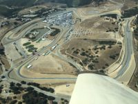 2017 8 16 MAZDA Laguna Seca Raceway from the air Cork Screw (on upper right) HMSA Monterey Historics Mazda Raceway Laguna Seca, CAL