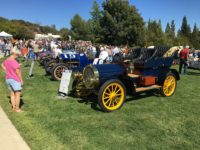 2017 9 22 1911 NATIONAL Speedway Roadster and a 1905 NATIONAL Model C Ironstone Concurs Murphys, CAL
