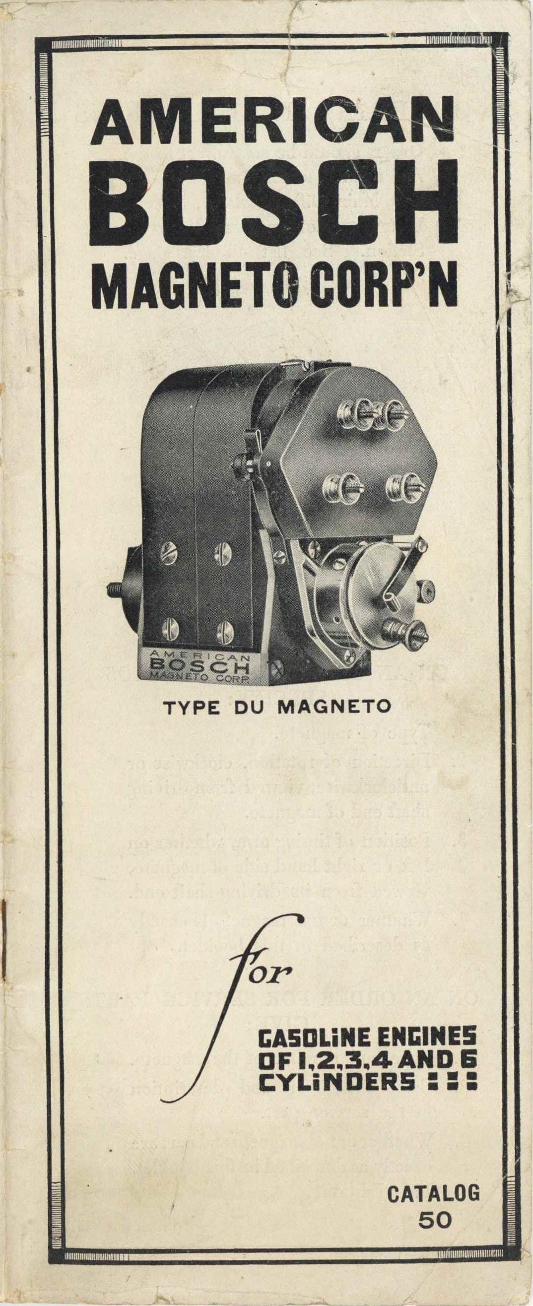 American Bosch Magneto Wiring Diagram  Magneto Parts Diagram, Small
