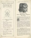 AMERICAN BOSCH MAGNET CORP'N TYPE DU MAGNETO for GASOLINE ENGINES OF 1, 2, 3, 4 AND 6 CYLINDERS CATALOG 50 10-1-1919 Inside front cover & page 1