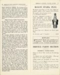 AMERICAN BOSCH MAGNET CORP'N TYPE DU MAGNETO for GASOLINE ENGINES OF 1, 2, 3, 4 AND 6 CYLINDERS CATALOG 50 10-1-1919 pages 14 & 15