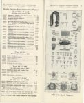 AMERICAN BOSCH MAGNET CORP'N TYPE DU MAGNETO for GASOLINE ENGINES OF 1, 2, 3, 4 AND 6 CYLINDERS CATALOG 50 10-1-1919 pages 42 & 43