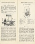 AMERICAN BOSCH MAGNET CORP'N TYPE DU MAGNETO for GASOLINE ENGINES OF 1, 2, 3, 4 AND 6 CYLINDERS CATALOG 50 10-1-1919 pages 8 & 9