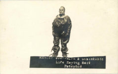 Menier ever warm unsinkable Life Saving Suit Patented RPPC front